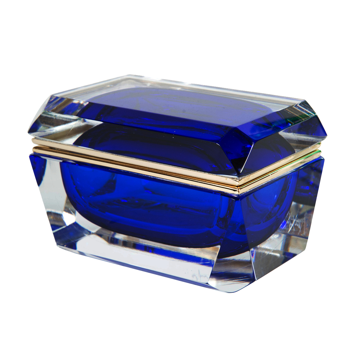 Rectangular Murano Glass Box Boxes John Salibello