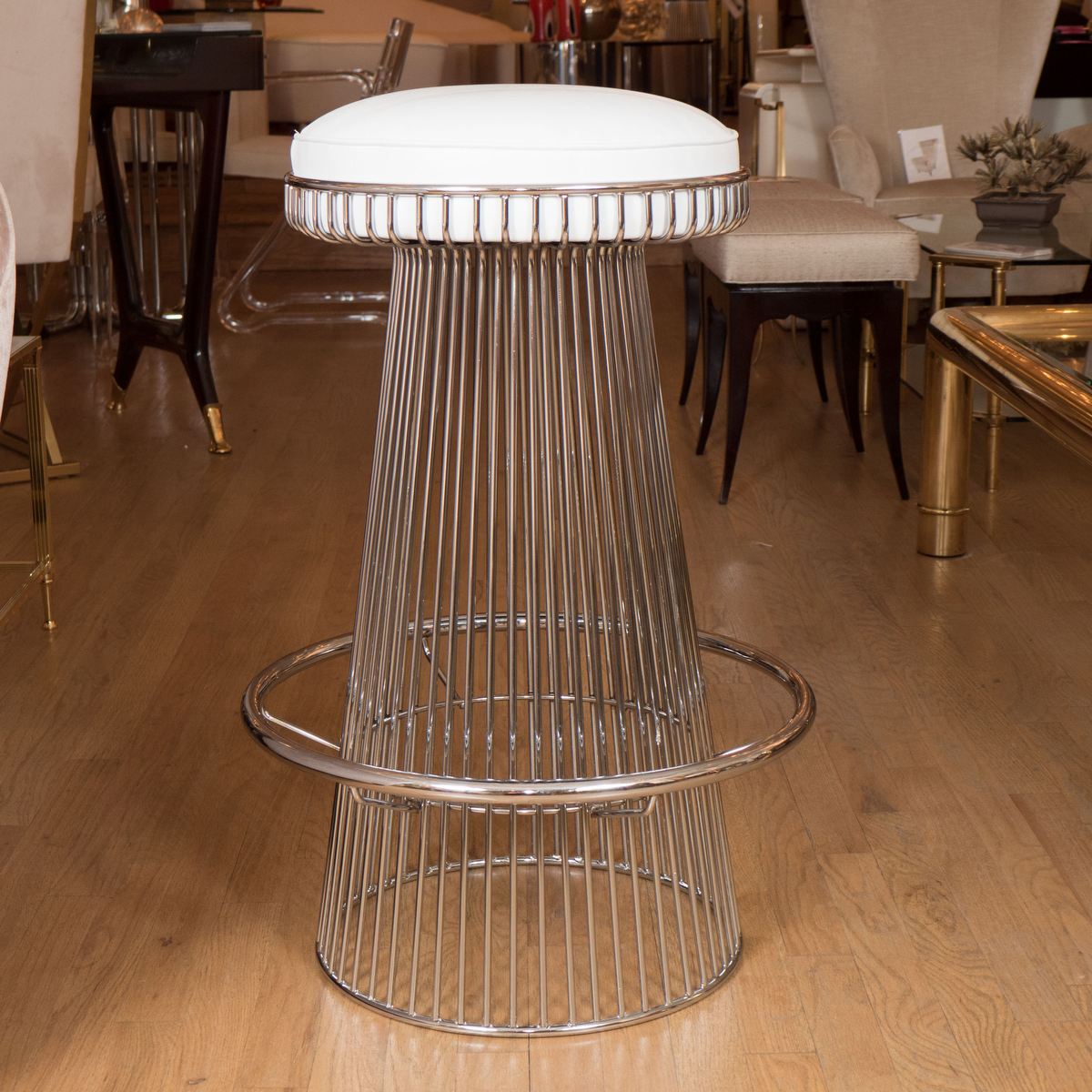 Stainless Steel Wire Bar Stool Stools John Salibello