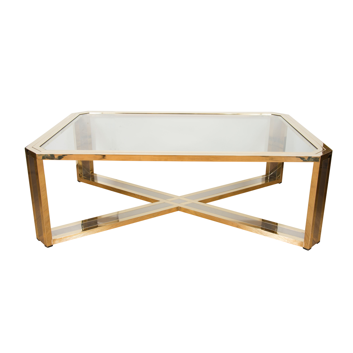 Octagonal coffee table coffee tables john salibello for Octagon coffee table