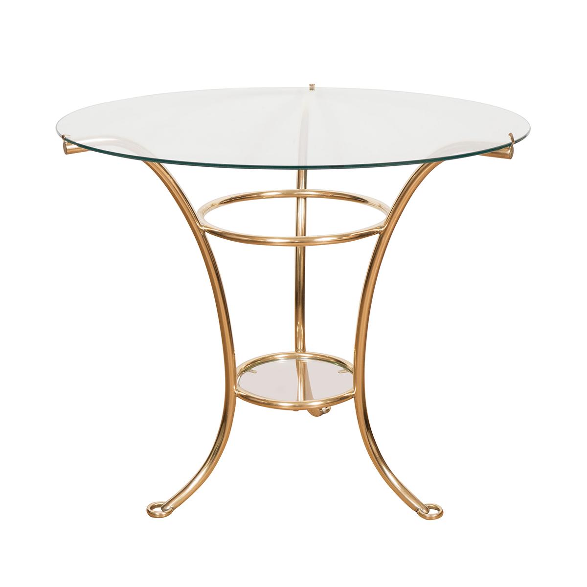 Circular Glass Side Table Side Amp End Tables John Salibello