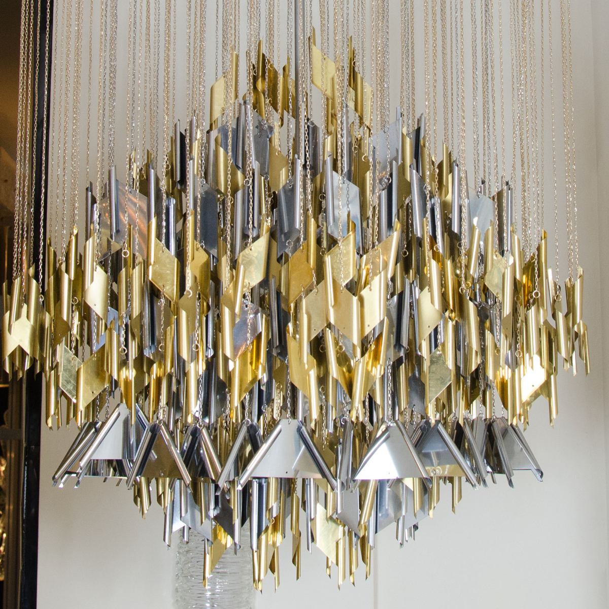Mixed Metal Element Chandelier Chandeliers Amp Pendants