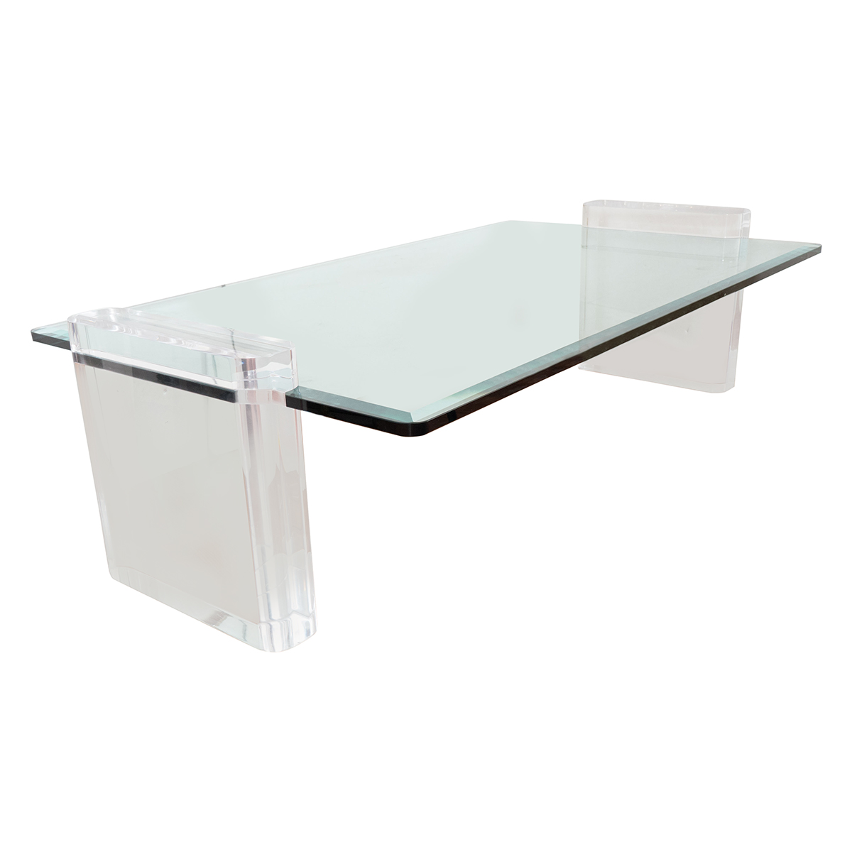 Lucite Coffee Table Coffee Tables John Salibello