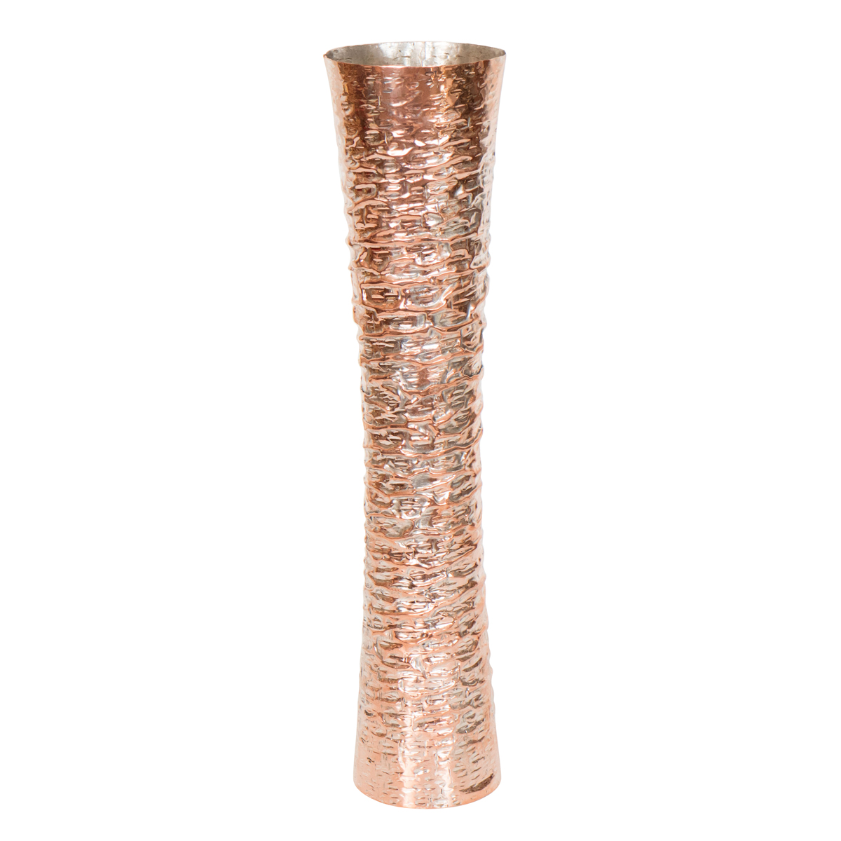 Hammered silver plated and copper vase Vases John  : 243A385 1200 from www.johnsalibello.com size 1200 x 1200 jpeg 332kB