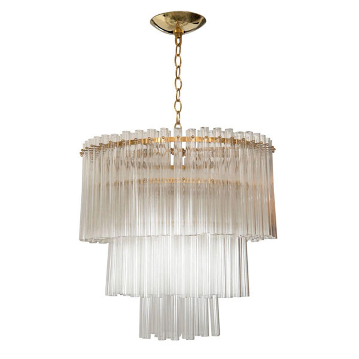 Circular three tier glass rod chandelier chandeliers pendants circular three tier glass rod chandelier chandeliers pendants john salibello audiocablefo