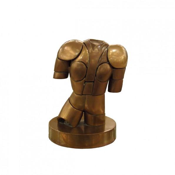 Bronze Male Torso Puzzle Sculpture Sculptures John