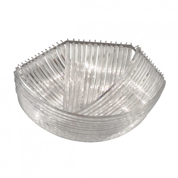 Large Scale Flush Mount Ceiling Fixture Composed Of